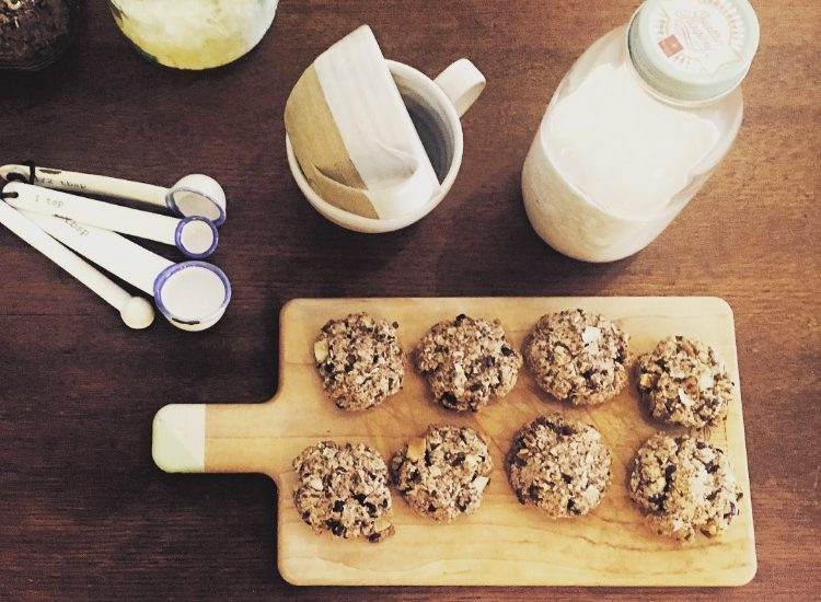 Fig & Chocolate Chip Cookies