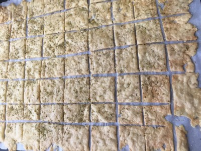 Sourdough Einkorn Crackers